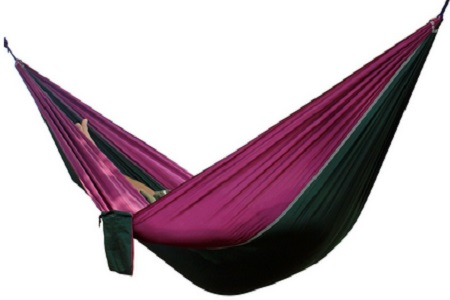 Parachute Nylon Fabric Portable Camping Hammocks