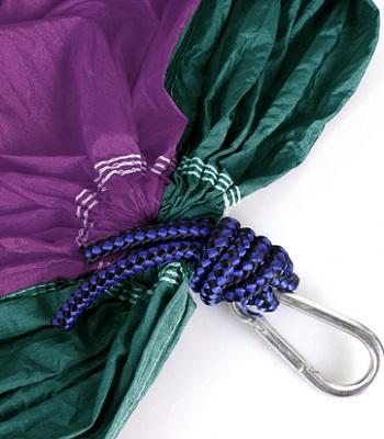 Parachute Nylon Fabric Portable Camping Hammocks