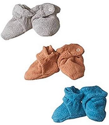 Zutano Unisex Baby Newborn Cozie Fleece Bootie