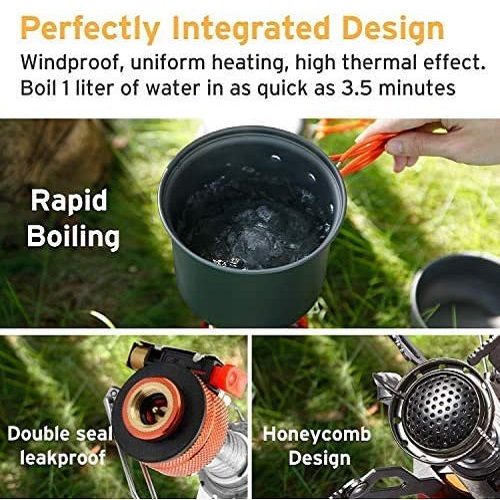 Etekcity Ultralight Portable Camping Stoves With Piezo Ignition