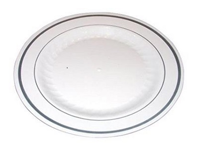 Masterpiece Premium Quality Heavyweight Plastic Plates