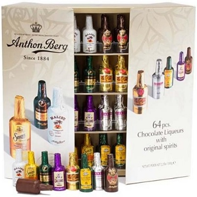 Anthon Berg Dark Chocolate Liqueurs With Original Spirits