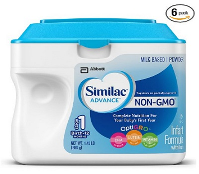 Similac Advance Infant Non-GMO Formula With Iron And Milk-Based Powder