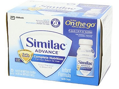 Similac Advance Infant Formula With Iron, Powder And One Month Supply