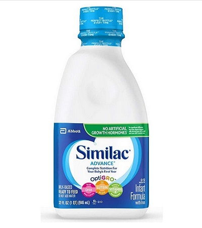 Similac Advance Infant Formula With Iron Pack Of 24 Bottles
