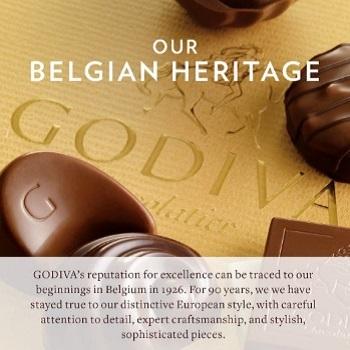 Godiva Chocolatier Signature Chocolate Truffles Gift Box