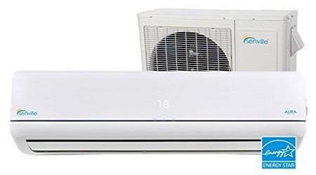 Senville Aura Ductless Mini Split Air Conditioner And Heat Pump