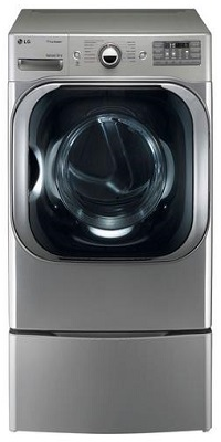 LG Graphite Front Load Steam Washer And Electric Dryer