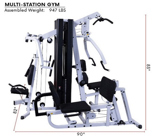Body-Solid Light Commercial Gym