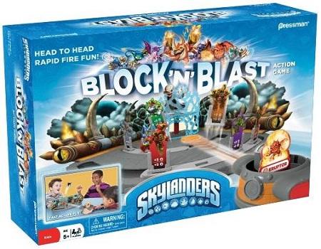 Skylanders Block And Blast Action Game