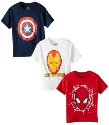 Marvel Boys Avengers Tee
