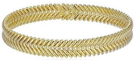 Chimento Armillas V-Pattern Cuff Bracelet