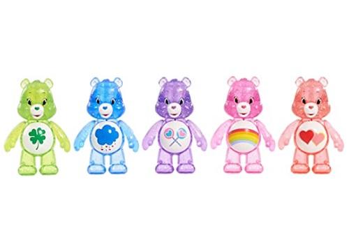 Just Play Care Bears Glitter Fun Figure Set (5 Pack)