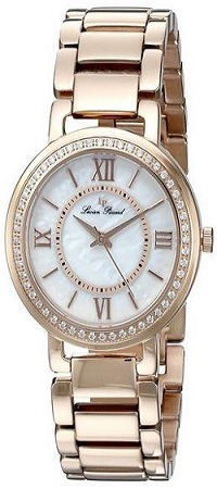 Lucien Piccard Women's Analog Display Rose Gold Tone Watch
