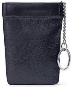 Winn Italian Leather Bell Drop Key Case