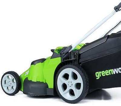 Greenworks Twin Force G-MAX 40V Cordless Lawn Mower