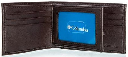 Columbia Men's Extra Capacity Slim Fold Wallet