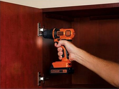 Black And Decker LDX120C 20-Volt MAX Lithium-Ion Cordless Drill/Driver