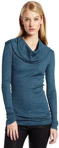 Michael Stars Women's Long Sleeve Shirt