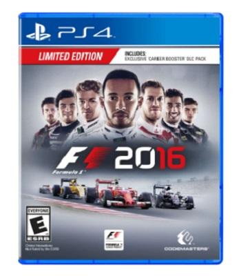 F1 2016 Formula One – Playstation 4