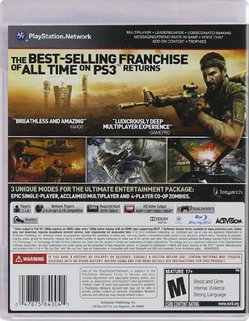 Call Of Duty – Black Ops Playstation 3