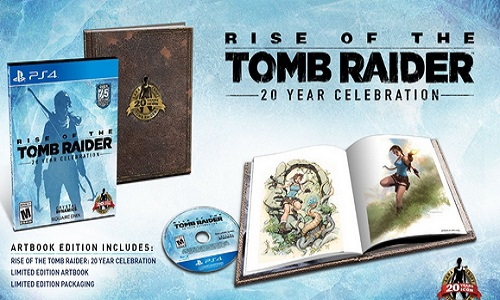 Rise Of The Tomb Raider 20 Year Celebration – Playstation 4