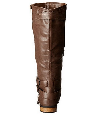 Rampage Women's Hansel Wide Knee-High Riding Wide Calf Boot