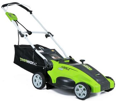 Greenworks 10 AMP Corded 16-Inch Lawn Mower