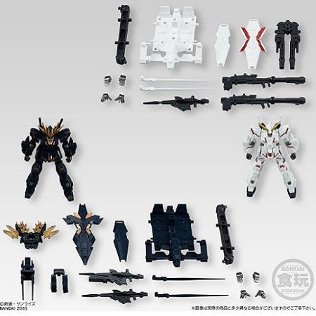 Mobile Suit Gundam Unicorn Action Model Figures