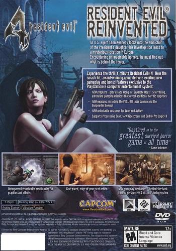 Resident Evil 4 - Playstation 2