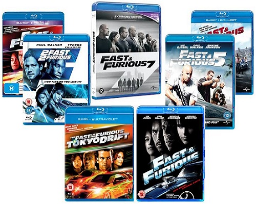Fast And Furious 1-7 Collection - Limited Edition