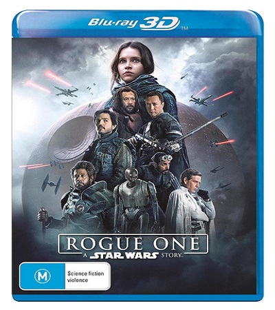 Rogue One - A Star Wars Story Movie Blu-Ray 3D