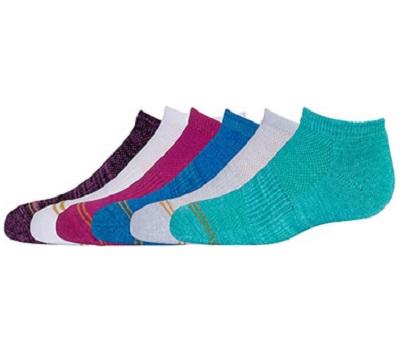Gold Toe Big Girls 6 Liner Socks