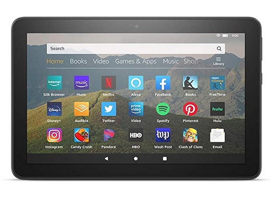 Fire Essentials Bundle Including Fire Tablet 7 Display
