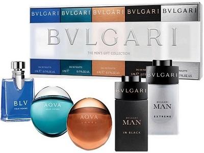 Bvlgari The Men's Gift Collection 5 Piece Mini Gift Set