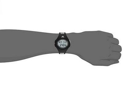 Adidas Men's Digital Display Analog Quartz Black Watch