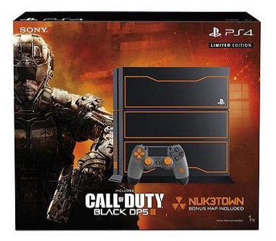 Playstation 4  1TB Console Call Of Duty Black Ops 3 Limited Edition Bundle