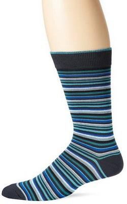 K. Bell Socks Men's Stripe Crew
