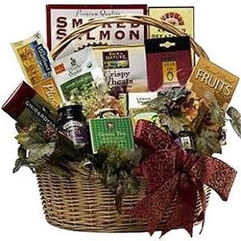 Art Of Appreciation Healthy Gourmet Food Basket