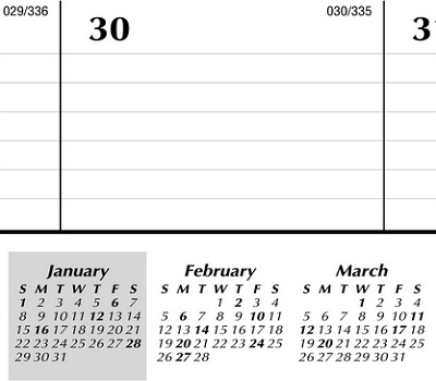 At-A-Glance Monthly Desk Pad Calendar 2017