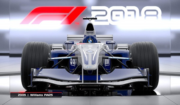 F1 2018 Formula One - Playstation 4
