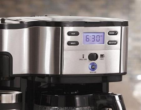 Hamilton Beach Single Serve Coffee Brewer And Full Pot Maker