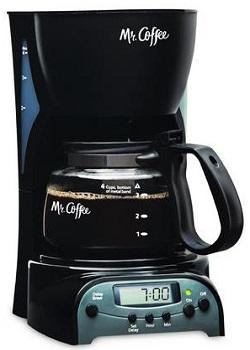 Mr. Coffee DRX5 4-Cup Programmable Coffeemaker