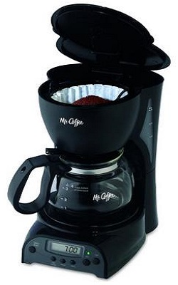 Mr. Coffee DRX5 4-Cup Programmable CoffeemakerMr. Coffee DRX5 4-Cup Programmable Coffeemaker