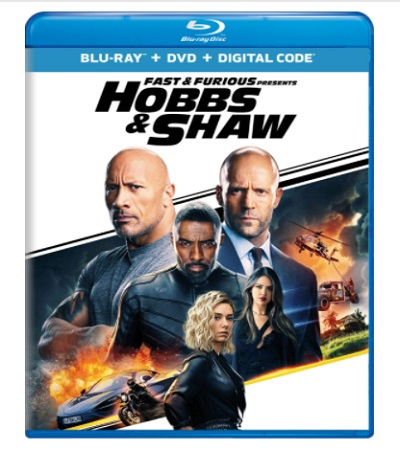 Fast And Furious Presents - Hobbs And Shaw Blu-Ray