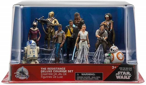Disney Star Wars - Rise of Skywalker - The Resistance PVC Playset