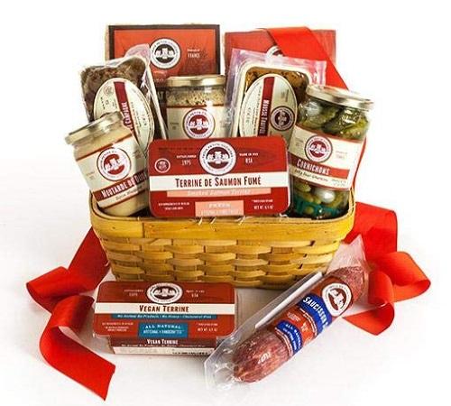 Les Trois Petits Cochons - Classic Gourmet Gift Basket