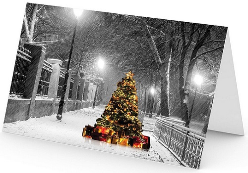 Christmas Holiday Cards - One Jade Lane Set Of 18