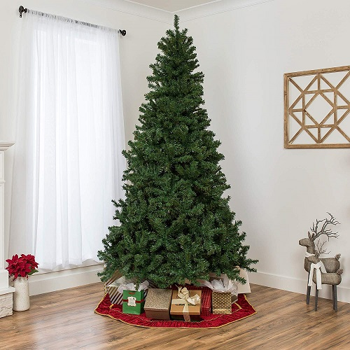 Best Choice Products 7.5ft Premium Spruce Hinged Artificial Christmas Tree