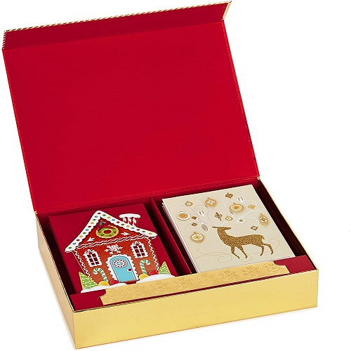 Hallmark Boxed Handmade Christmas Cards Assortment Set Of 24